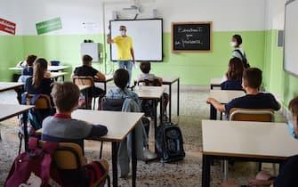 Una classe in una scuola italiana