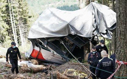 Funivia Mottarone, proseguono le operazioni per rimuovere la cabina