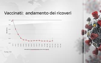Grafiche coronavirus: l'andamento dei ricoveri