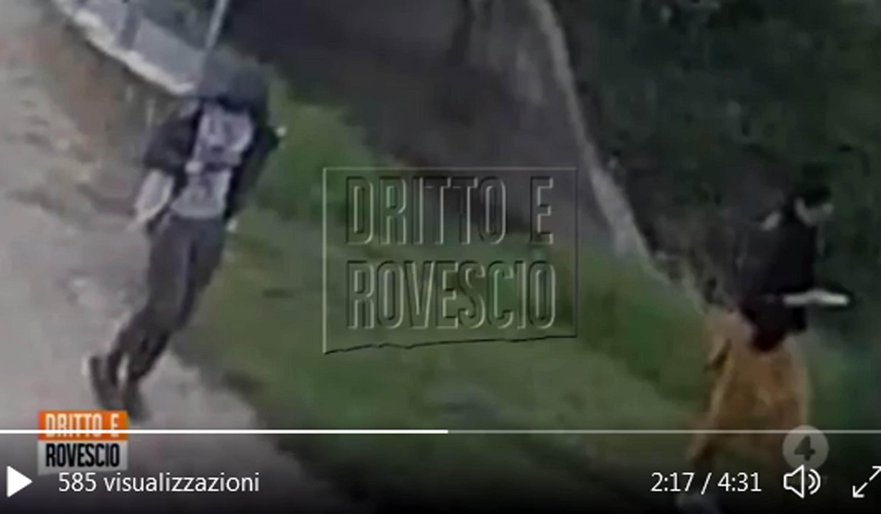 """Un'immagine di Saman Abbas viva, che cammina insieme al fratello il 29 aprile scorso, il giorno prima della scomparsa: la sequenza, probabilmente di una telecamera di sorveglianza a Novellara (Reggio Emilia), è stata mostrata ieri sera, 10 giugno 2021, nel corso della puntata, di """"Dritto e Rovescio"""" su Rete 4. ANSA/ FERMO IMMAGINE RETE 4 +++ ANSA PROVIDES ACCESS TO THIS HANDOUT PHOTO TO BE USED SOLELY TO ILLUSTRATE NEWS REPORTING OR COMMENTARY ON THE FACTS OR EVENTS DEPICTED IN THIS IMAGE; NO ARCHIVING; NO TV: NO LICENSING +++"""