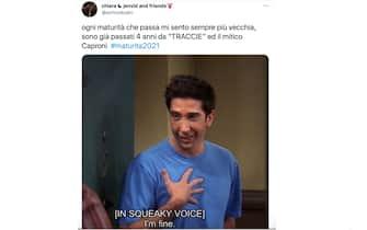 Il personaggio Ross in Friends