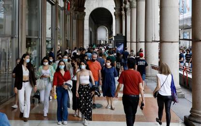Covid, stop mascherine all'aperto: ipotesi 28 giugno o 5 luglio