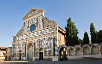 Santa Maria Novella, Florence, Italy. (Photo by Giovanni Mereghetti/Education Images/Universal Images Group via Getty Images)