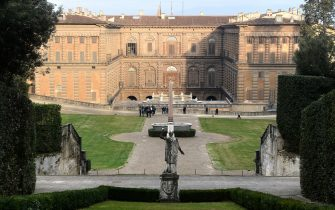 FLORENCE, ITALY - JANUARY 19: A general view during the reopening of Boboli's Gardens following Covid-19 restrictions at Pitti Palace on January 19, 2021 in Florence, Italy. (Photo by Roberto Serra - Iguana Press/Getty Images)