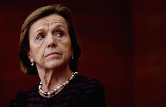 Elsa Fornero all'incontro 'Gli Stati generali delle Pensioni' organizzata dall'Università Bocconi, Milano, 27 novembre 2018. ANSA/DANIEL DAL ZENNARO
