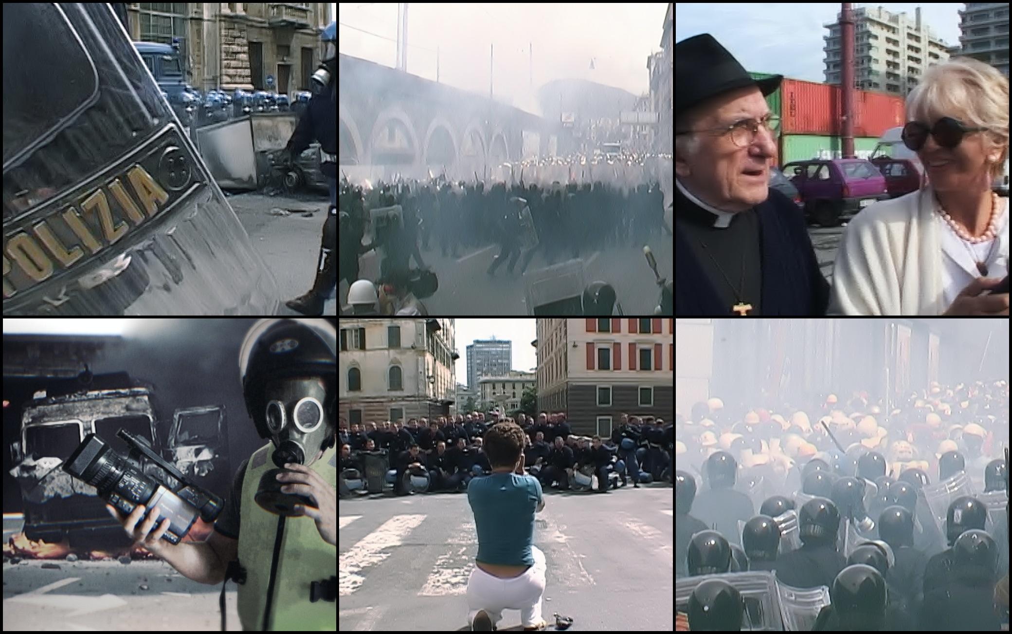 Altre immagini del G8 di Genova