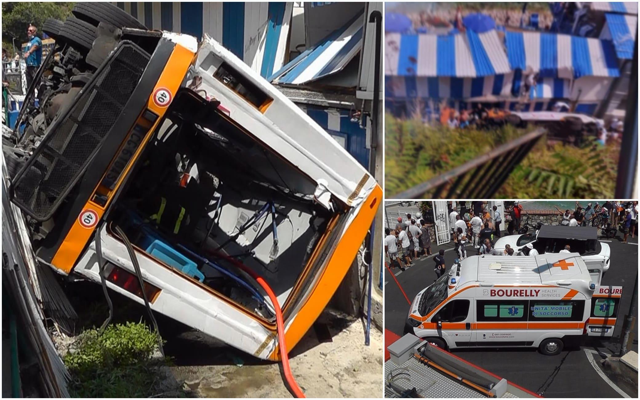 Alcune foto scattate dopo l'incidente