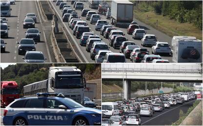 Traffico, scatta l'esodo di fine luglio: i punti critici sulle strade