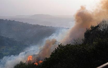 Incendi in Sardegna, ancora focolai nell'Oristanese. FOTO