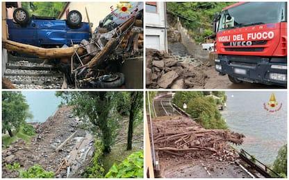 Meteo, maltempo a Como: i danni dopo l'alluvione. FOTO
