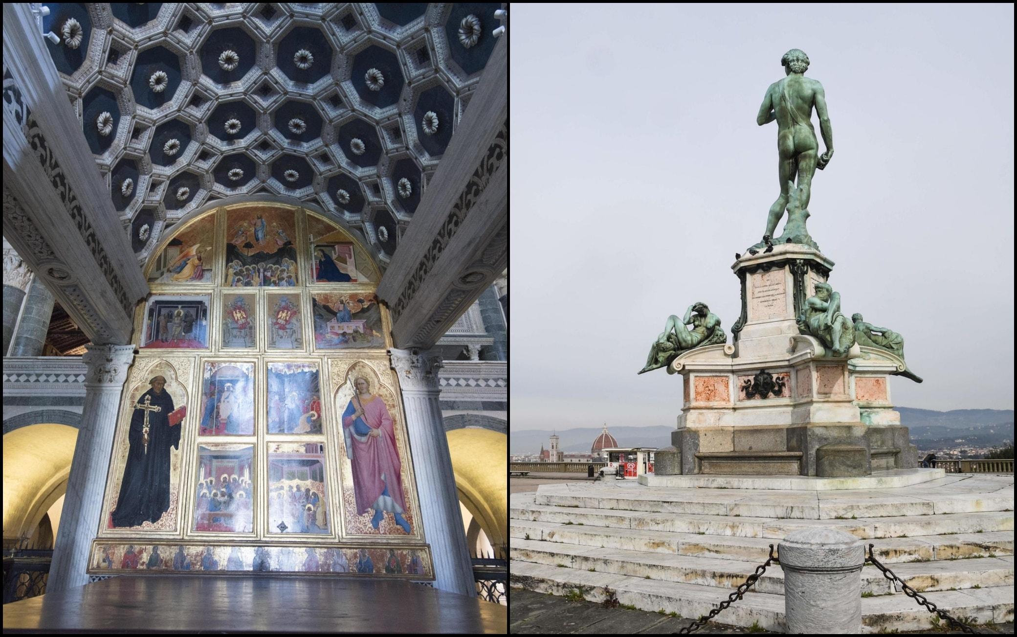 L'Abbazia di San Miniato e Piazzale Michelangelo a Firenze