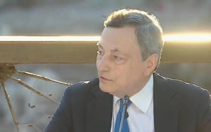 Roma, G20 Cultura al Colosseo. Draghi: Settore cruciale per ripartenza