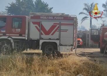Incendi, Madonie e Nebrodi uniti da un lungo fronte di fuoco