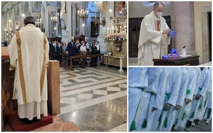 Covid, le regole della Chiesa: senza green pass a messe e processioni