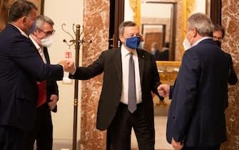 Draghi incontra i sindacati