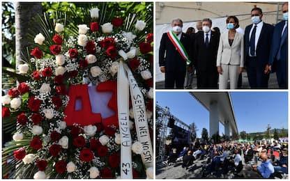 Genova, il ricordo delle vittime a 3 anni dal crollo di Ponte Morandi
