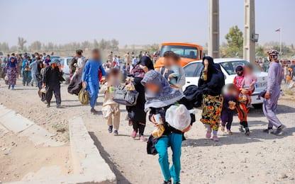 Germania, a Rammstein le tende per i profughi afghani. VIDEO