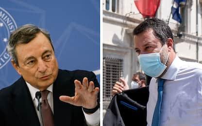 """Riforma catasto, Draghi avverte la Lega: """"Il governo va avanti"""""""