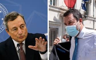 Conferenza stampa del Presidente Draghi sulle regole Green Pass anti diffusione del Covid-19