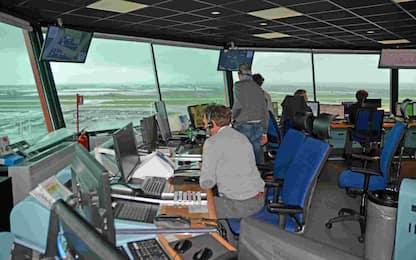 Trasporto aereo, oggi lo sciopero dei controllori di volo