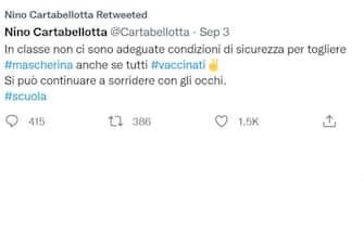 Un tweet sulla scuola di Nino Cartabellotta