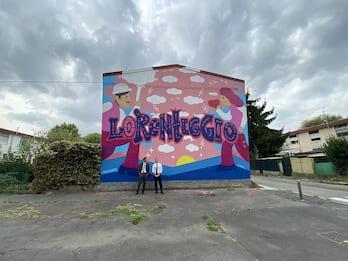 Milano, nel quartiere Corba il progetto di arte urbana sulle Olimpiadi