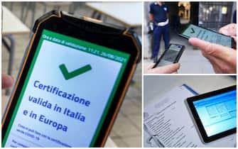 green pass su smartphone