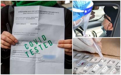 No vax, quanto costa non fare il vaccino? 180 euro al mese per tamponi