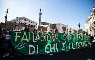 fridays for future roma manifestazione