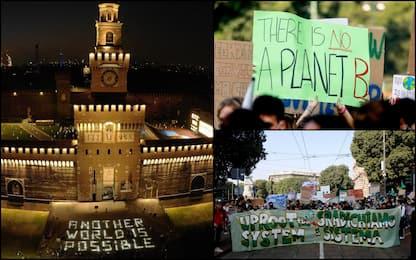 Fridays for future, prime manifestazioni dopo stop per pandemia. FOTO