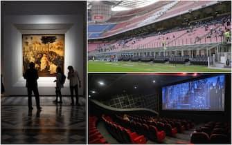 cts: ok a aumento capienze per cinema stadi teatri