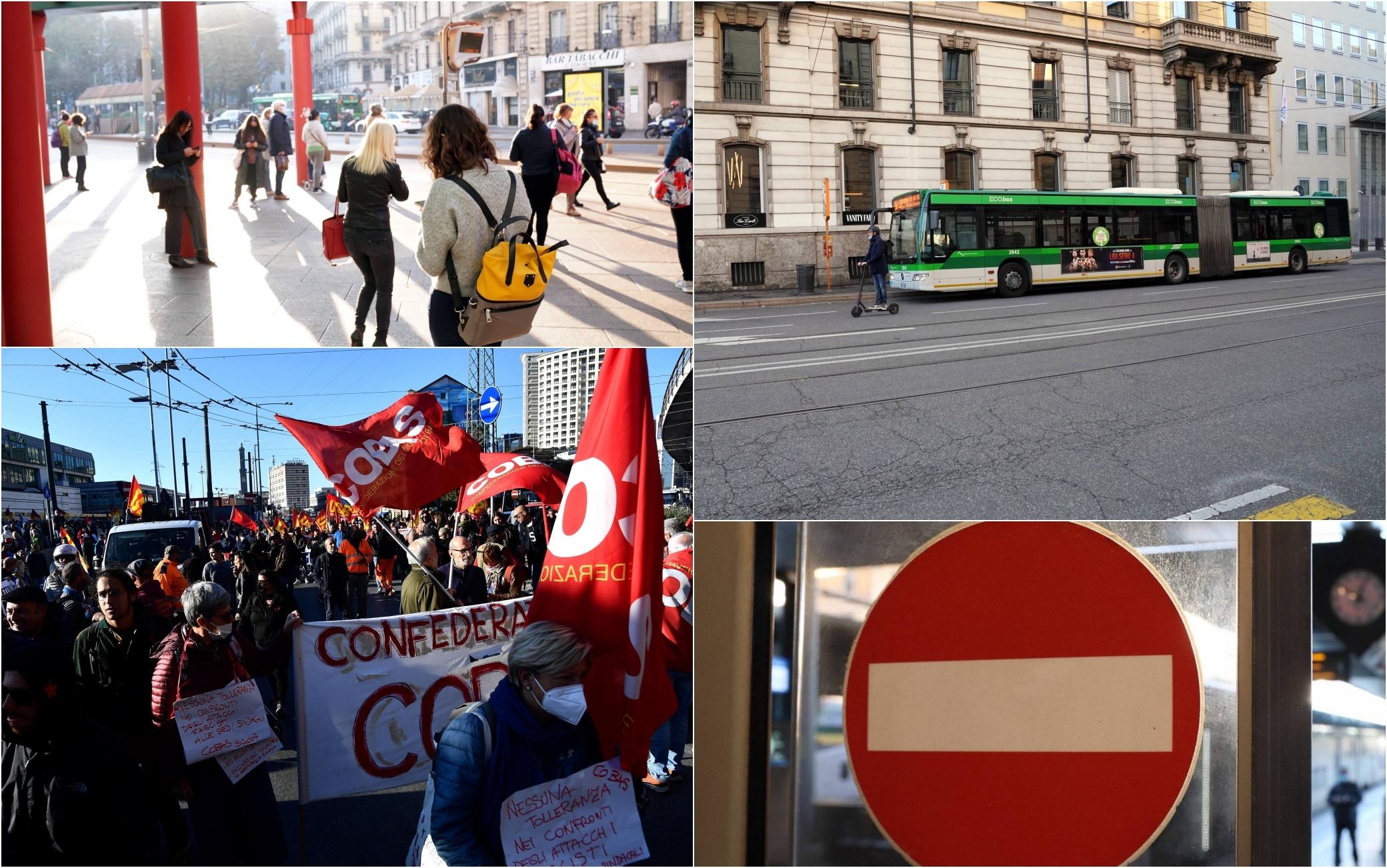 Sciopero generale 11 ottobre, trasporto pubblico a rischio: le fasce orarie  garantite