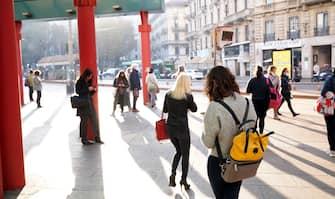 Milano, Sciopero Nazionale del trasporto pubblico a Milano hanno aderito Cub Trasporti, Usb lavoro privato Lombardia, Sgb, al Cobas e Sol Cobas, Metropolitana funziona e no a chiuso e anche i mzzi di superficie (Milano - 2021-10-11, DUILIO PIAGGESI) p.s. la foto e' utilizzabile nel rispetto del contesto in cui e' stata scattata, e senza intento diffamatorio del decoro delle persone rappresentate