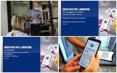 Controlli green pass per lavoratori
