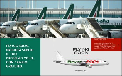 Alitalia, ultimo volo dopo 74 anni. Il marchio a Ita per 90 milioni