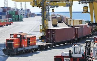 Un'immagine del porto di Trieste. ANSA