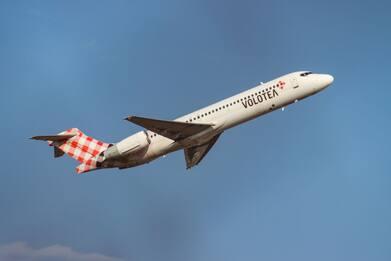 Volotea: in vendita da oggi biglietti per voli agevolati Sardegna