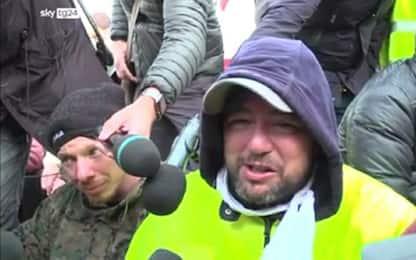 """Trieste, Stefano Puzzer in lacrime: """"Non ci fermiamo"""""""