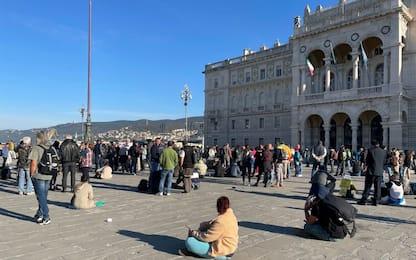 Trieste, non vaccinati i 46 positivi dopo proteste no Green pass