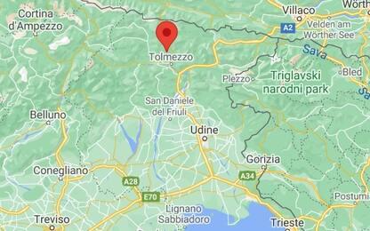 Friuli Venezia Giulia, scossa di magnitudo 3.7 in provincia di Udine