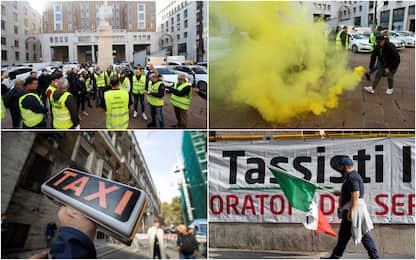 """Taxi, sciopero nazionale. I sindacati: """"80% conducenti hanno aderito"""""""