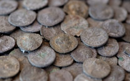 In Germania ritrovate 5.500 monete romane d'argento