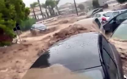 Maltempo Sicilia, coppia travolta da acqua a Scordia: trovata