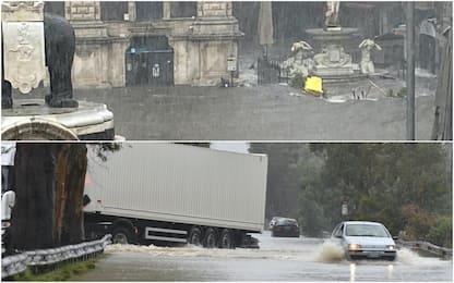 Maltempo in Sicilia e Calabria, uomo muore annegato nel Catanese