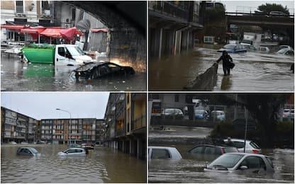 Catania devastata dal maltempo: i danni del nubifragio