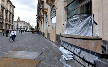 Catania si prepara al maltempo