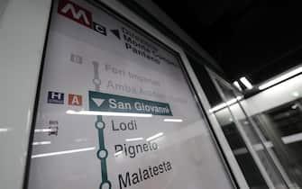 L'interno della nuova stazione San Giovanni della Metro C durante l'inaugurazione, Roma, 12 maggio 2018. ANSA/RICCARDO ANTIMIANI