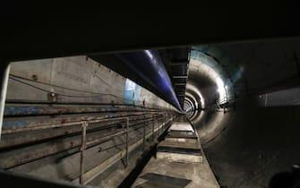 Cantieri Metro C tratta San Giovanni-piazza Venezia, Roma, 27 dicembre 2019. ANSA/GIUSEPPE LAMI