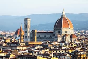 Panorama Florence, Duomo santa Maria del fiore