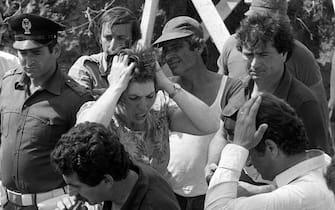 Una foto di archivio della mamma di  Alfredino Rampi il 6 giugno del 1981 ARCHIVIO ANSA